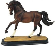 10.5 Inch Brown Horse Animal Figurine Statue Collectible Figure Wild Nature