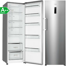 Amica 360 Liter XL Stand Kühlschrank A++ Vollraum Kühlgerät Edelstahl-Optik NEU