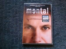MENTAL SEASON 1 BRAND NEW DVD BOX SET TELEVISION TV SHOW HOUSE MONK PSYCH NCIS