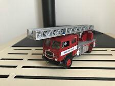 CAMION TRUCK FIAT 642 SCALA POMPIERI VIGILI DEL FUOCO FIRE  F.DOUBLE CABIN  1/43