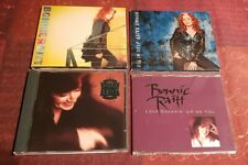 BONNIE RAITT CD Bundle: Slipstream DIG IN DEEP luck of the draw UP ON YOU