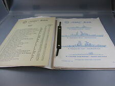 Delphin:Schiffs- Preisliste 1975 (GK73)