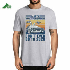 Retro Vintage Marty Whatever Happens Don't Ever Go to 2020 Shirt