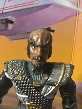 Playmates Star Trek Chris Lloyd Klingon Kluge Figure/Great Scott No Marty/As-Is