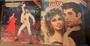 Lot of 2 LaserDiscs Grease & Saturday Night Fever