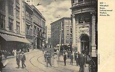 GA - 1900's Whitehall St. looking towards Viaduct in Atlanta, Georgia