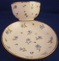 Antique 18thC Nyon Porcelain Cup & Saucer Porzellan Tasse Switzerland Swiss