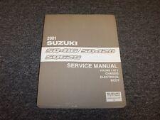 2001 Suzuki Grand Vitara SUV Workshop Shop Service Repair Manual Vol1 JLS JLX