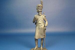 France Sapper Dragons de la Garde Imperiale 1812 Year 75mm 1/24 Scale Tin Figure