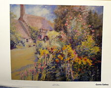 Cottage Garden Sheila Goodman Signed Limited Edition Print Landscape