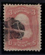 G138130/ UNITED STATES / SCOTT # 83 USED CERTIFICATE CV 1100 $