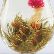 10 Balls Amazing Beauty Popular Different Handmade Blooming Flower Green Tea HU