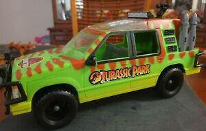 Rare KENNER Jurassic Park JUNGLE EXPLORER VEHICLE 1993 Dinosaur Complete Ford JP