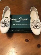 Vintage Daniel Green Petite Comfy Slippers Champagne 6 ? Nib 185