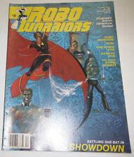 Robo Warriors Magazine Robo Warriors & Reiki December 1988 081914R