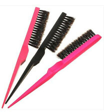 Tease Back Hair Salon Brush Pester Durabl Extension Line Smooth Wig Comb Funny