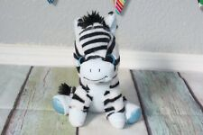 "Target MGS Group Zebra Horse Blue Glitter Eyes Sparkly Plush 2017 Toy 7"" RARE"