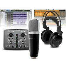 M-Audio M-Track Vocal Studio PRO Bundle Inc Audio Interface, Mic & Headphones