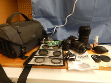 Nikon D D5100 16.2MP Digital SLR Camera, 2 Lenses (1 Tamron) and Accessories!!