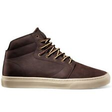 VANS Alcon (Work Boot) Brown Leather Shoes MEN'S 6.5 WOMEN'S 8