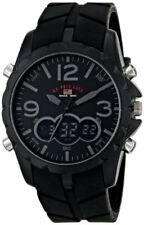 U.S. Polo Assn. Sport Men's US9287 Watch with Black Rubber Band