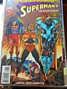 DC Comic Superman The Reign Is Over #107.Dec 1995