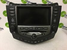 2004 - 2007 HONDA Accord Navigation System GPS Radio Stereo 6 Disc Changer 2CY3