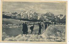 AK aus Seefeld, Eisschiessen am Seefelder See, Tirol  (F5)