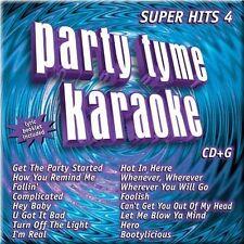 Party Tyme Karaoke 4: Super Hits 2002 by Party Tyme Karaoke *NO CASE DISC ONLY*