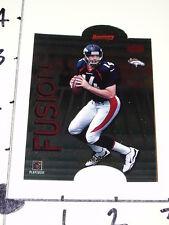 John Elway/Brian Griese 1998-99 Bowman's Best Fusion - Tough SP Denver Broncos
