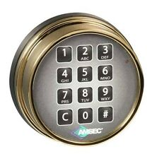AMSEC ESL10XL Digital Safe Lock in a Brass Finish Replaces S&g 6120 and Lagard
