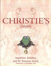 SOTHEBY'S ART NOUVEAU JEWELS Fouquet Lalique Wolfers 99