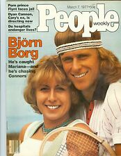 People Magazine  BJORN  BORG   MARCH  7  1977