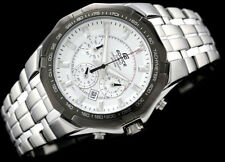 Casio Edifice Men's Stainless Steel 100M Chronograph Tachymeter Watch EF540D-7A