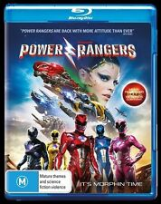 The Power Rangers - Movie (Blu-ray, 2017)
