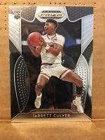 2019-20 Prizm Draft Picks Collegiate Jarrett Culver RC Silver Prizm