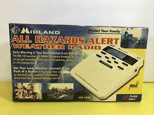 Midland WR-100 All Hazards Alert Weather Radio NOAA Storm Tornado Digital