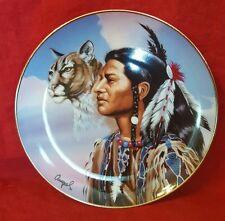 """Franklin Mint """"Spirit Leader"""" Fine Porcelain Limited Ed. Collector's Plate 1995"""