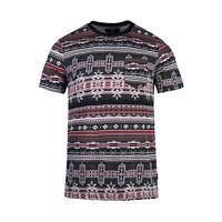 Beautiful Giant Men's Boho Style Comfortable Short Sleeve Pocket T-shirt