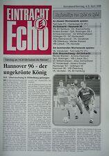 Programm 1997/98 SV Eintracht Nordhorn - Hannover 96