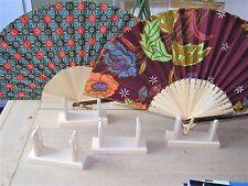Support présentoir en bois pour l'éventail  NEUF 13 x 4 cm