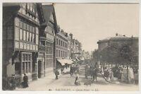 Wiltshire postcard - Salisbury - Queen Street - LL No. 60 (A79)