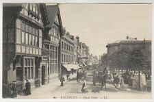 More details for wiltshire postcard - salisbury - queen street - ll no. 60 (a79)