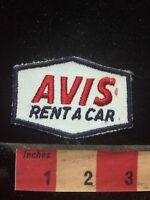 Vintage AVIS RENT-A-CAR Advertising / Uniform Patch 76EE