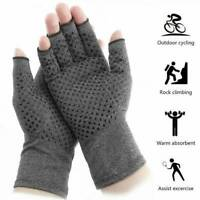 Arthritis Gloves Magnetic Pain Relief Compression Wrist Support Hand Palm Brace