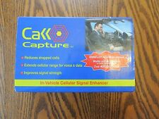 Call Capture In Vehicle Cellular Signal Enhancer