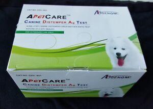 Canine Distemper Virus (10 tests) Home Nasal Swab Test. Ships fast from Atlanta