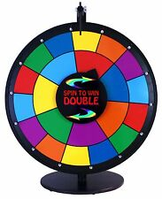"24"" Spin to Win Dry Erase DOUBLE PRIZE WHEEL GRAPHIC"