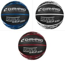 "Champro Sports Dura-Grip 220 Official Size (29.5"") & Weight Rubber Basketball"