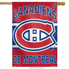 """Montreal Canadiens Vertical House Flag NHL Licensed Hockey Banner 28"""" x 40"""""""